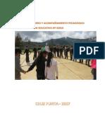 Plan de Monitoreo y Acompañamiento Pedagogico