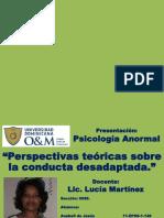 Perpectivas Teoricas de La Conducta Anormal