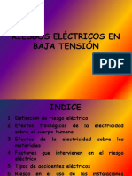 Riesgos Electricos en Baja Tension