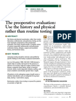 5.14.04. the Preoperative Evaluation