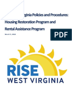 Rise West Virginia Housing Program Policies and Procedures - 3.5