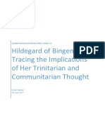 Hildegard of Bingen's Trinitarian and Communitarian Thought
