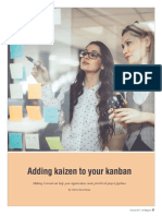 Adding Kaizen to Your Kanban