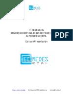 Carta de Presentación IT-Redes 2017