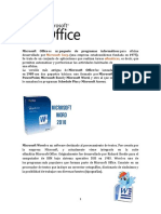 Microsoft Office y Sus Programas