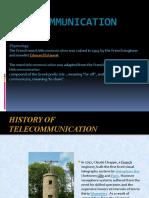 Telecommunication Ppt