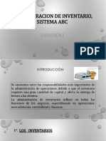 Administracion de Inventario, Sistema ABC 1