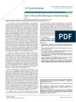 Theranostic Nanoparticles a Recent Breakthrough in Nanotechnology 2157 7439.1000e114