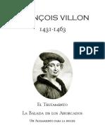 31455426 Francois Villon Poesias