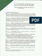 Reglamento de Tesis 1999 - Facultad de Ciencias UNP