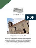 A Paróquia e a Igreja Matriz de Loriga