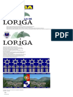 Extratos Da Obra Do Historiador António Conde Sobre a História de Loriga - Excerpts of the Work of the Historian António Conde About the History of Loriga