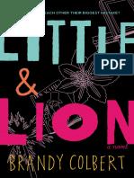 Little Lion 3 by Brandy Colbert