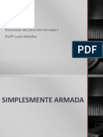 DIMENSIONAMENTO DE VIGAS