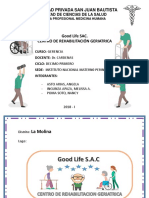 Centro Rehabilitacion GOOD LIFE. Sac