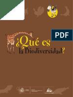¿Que Es La Biodiversidad?