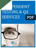Kualitatem Services Portfolio Overview