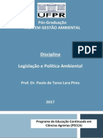 Apostila Legislação e Política Ambiental