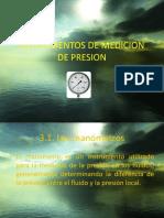 Tema 3 Instrumentos de Medicion de Presion