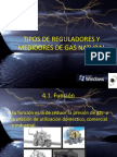 Tema 4 Tipos de Reguladores y Medidores