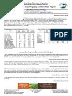 Louisiana Crop Progress and Condition Report
