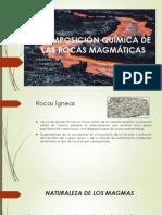 Composición Química de Las Rocas Magmáticas