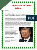 Presidente Actual de Corea Del Sur