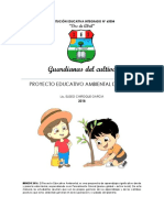 2018 Proyecto Educativo Ambiental