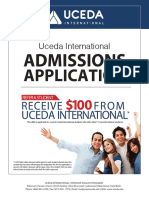 UCEDA Admissions Application