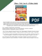 Inglês Em 100 Dias