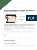 No Acreditada La Negligencia, Torpeza o Incapacidad Del Profesional, Corresponde Reumunerar Las Tareas de Asesoramiento Referidas a Un Divorcio – Microjuris - Argentina