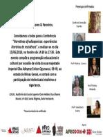 Convite - Professores Da Rede e Parceiros-2
