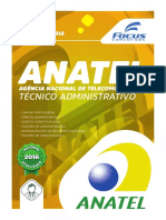 Anatel Apostila Tecnico Administrativo