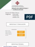 enfoque diagnostico de trastornos hemostasia
