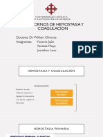 enfoque diagnostico de trastornos hemostasia