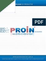Catalogo Proin