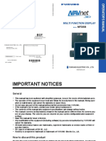 MFDBB Operator's Manual H