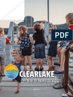 FY 2018-19 Clearlake Proposed Budget - FINAL