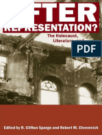 R. Clifton Spargo, R. Clifton Spargo, Robert M. Ehrenreich-After Representation__ The Holocaust, Literature, and Culture-Rutgers University Press (2009).pdf