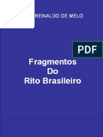 E-book - Fragmentos Do Rito Brasileiro - José Reinaldo de Melo