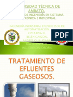 CLASE 13. Tratamiento de Efluentes Gaseosos