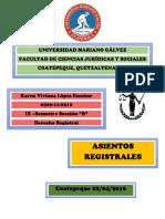 MAPAS ASIENTOS REGISTRALES