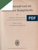 Der Gaskampf und die Chemischen Kampfstoffe - Julius Meyer