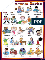 Classroom Verbs