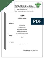 Estudio Técnico - Pulsera