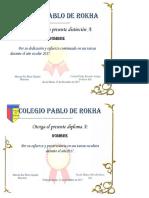 Diploma de Esfuerzo