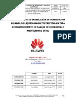 Po-sst-010 Procedimiento de Instalacion de Transductor de Nivel de Liqui...