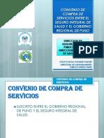 Convenio de Compra de Servicios Entre El Seguro 2018