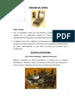 Resumen de Clase de Máquina de Turing
