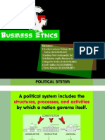 Politics, Law and Business Ethics IB